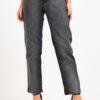 1284 Pantalón Dual color Negro/Gris - gris-negro - 36