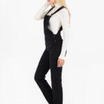6031 Jardinero pantalón rígido recto - celeste - 36