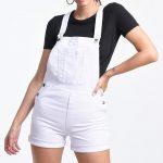 6009 Jardinero Short Blanco - blanco - 36