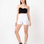 4095 Short Blanco Juvenil con Roturas - blanco - 36